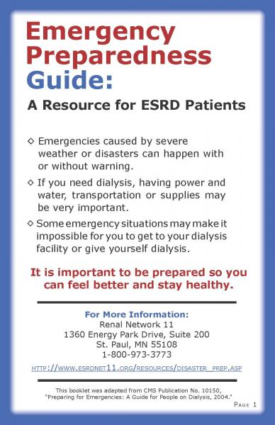 pandemic preparedness plan template - download an emergency preparedness guide for dialysis