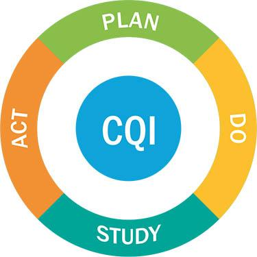 Diagram of CQI process